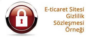 eticaret-gizlilik-sözleşmesi